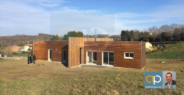 Maison bois d'architecte à LANTA
