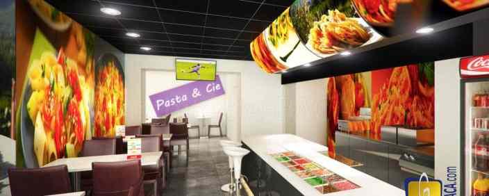 Conception / Agencement d'un restaurant