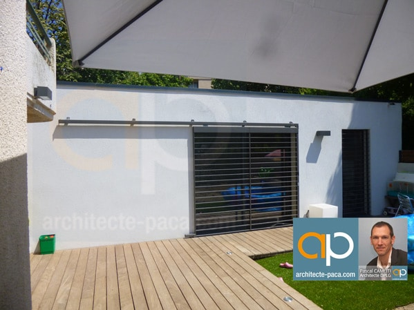 Extension garage architecte architecte paca de for Recours architecte extension garage