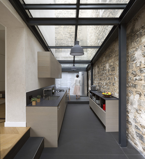 Modern Dirty Kitchen Design