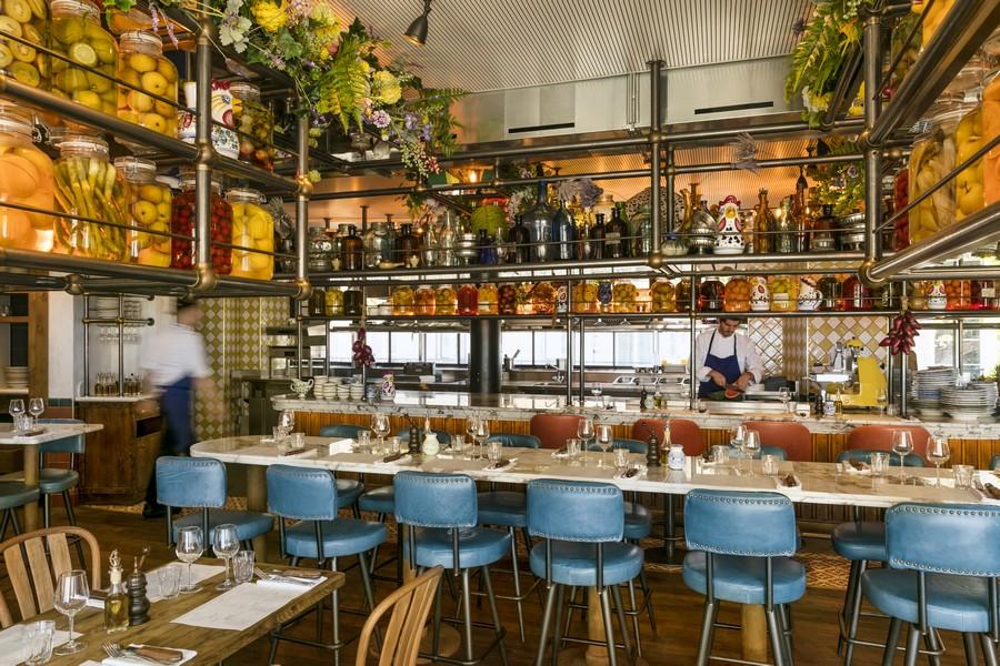 Pink Mamma_restaurant_paris_architecture_architecte_Jerome_galland_photo (1)