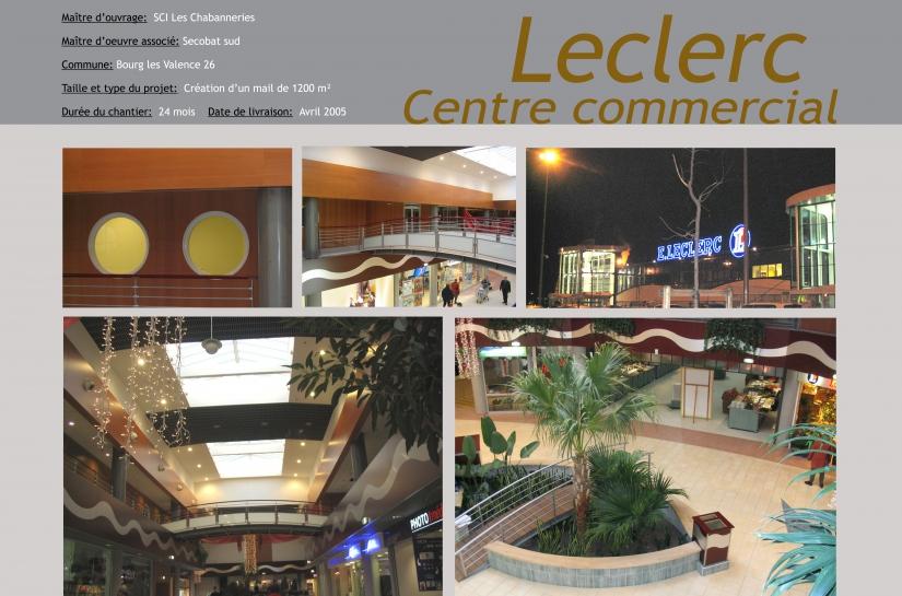 centre commercial leclerc cabinet