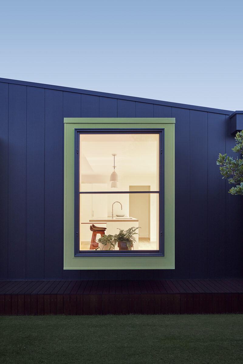 Dark Cladding Green Window