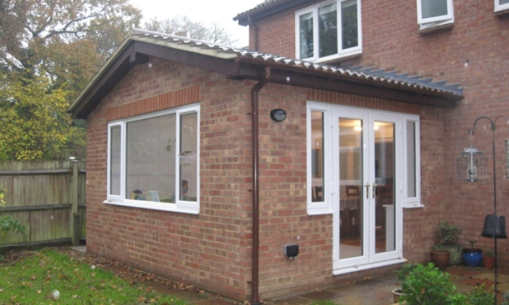 Rear extension to replace conservatory  Hertfordshire