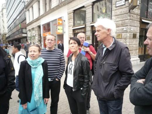 Budapest architecture walking tour