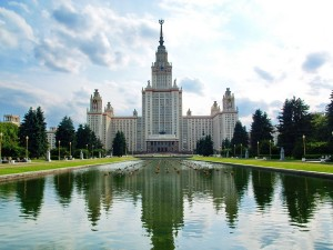 Russian Architectural Tours - Lomonosov Moscow State University