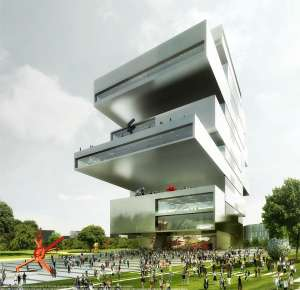 Russian Architectural Tours - NCCA Building Moscow