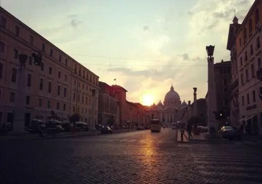 Vatican Rome buildings