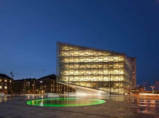 The Crystal Copenhagen building