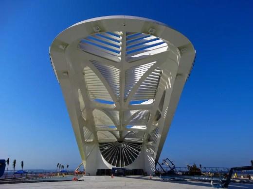 Brazil Architecture Tours - Museu do Amanhã Rio by Santiago Calatrava