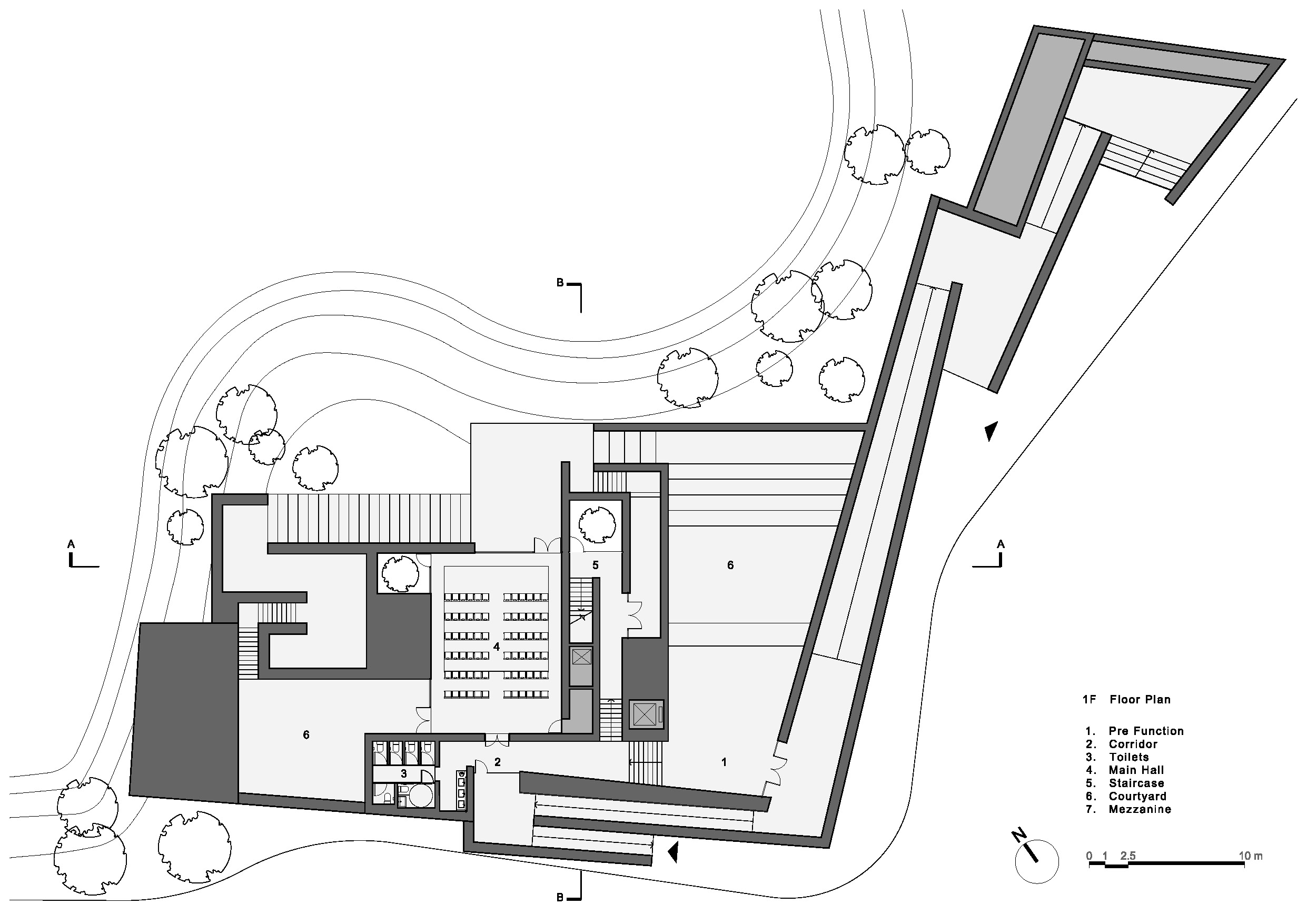 Plan courtesy Neri & Hu Design and Research Office