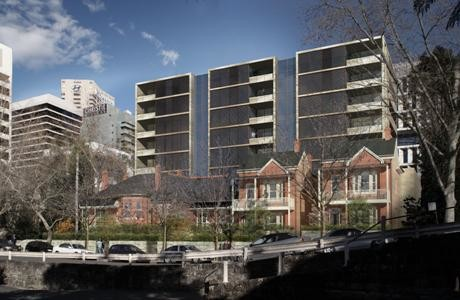 New meets old in 2011 North Sydney development