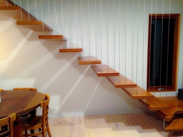 Vertical wire balustrades a better alternative to glass balustrades  Architecture  Design