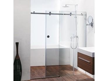 Frameless Sliding Shower System Opto Shower By Fethers