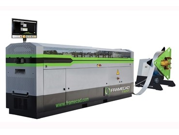 FrameCAD launches new lightweight steel frame machine for better speed and efficiency