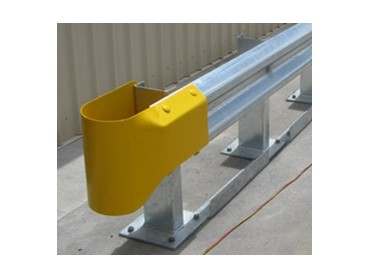 Stubby Nose end for guardrails available from Armco Barriers  Architecture  Design