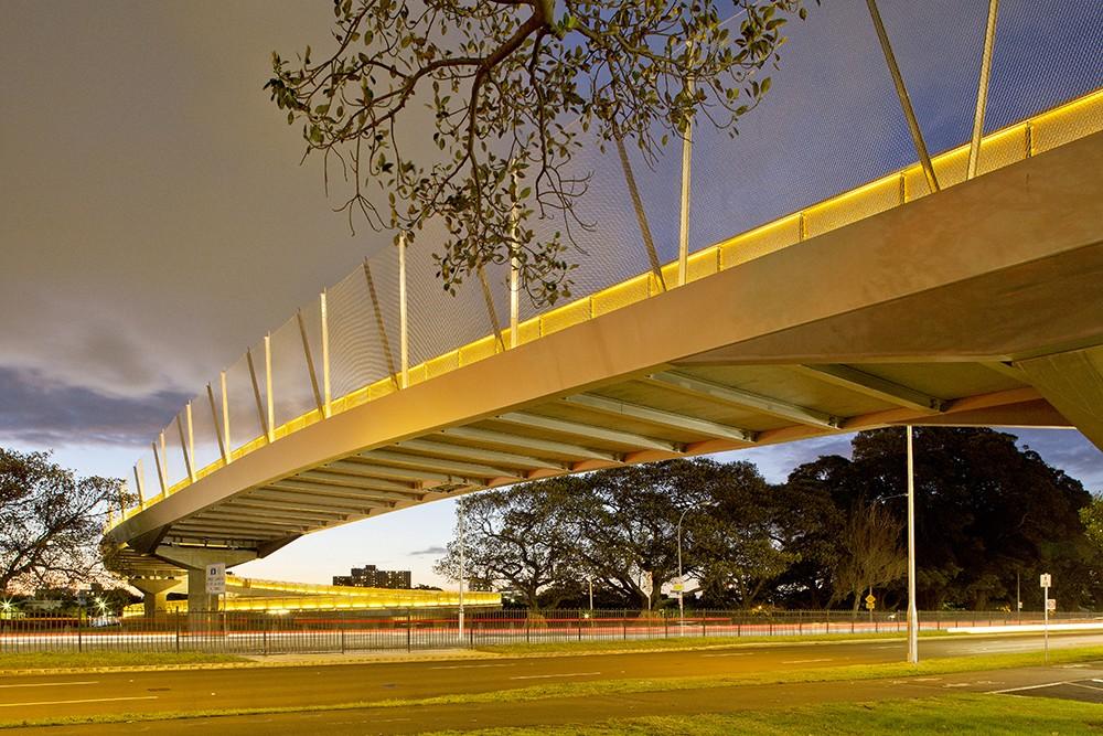 Albert Tibby Cotter Pedestrian Bridge  Architecture