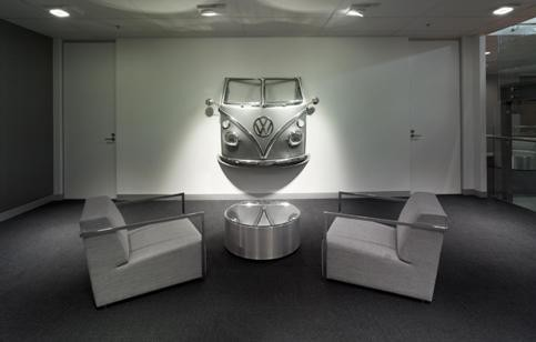 kitchen window coverings island top vw's australia head office fitout completed by davenport ...