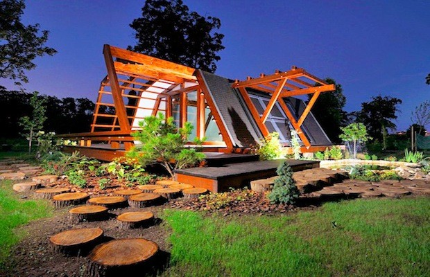 A tiny zeroenergy home that can be remote controlled by a smartphone  Architecture And Design
