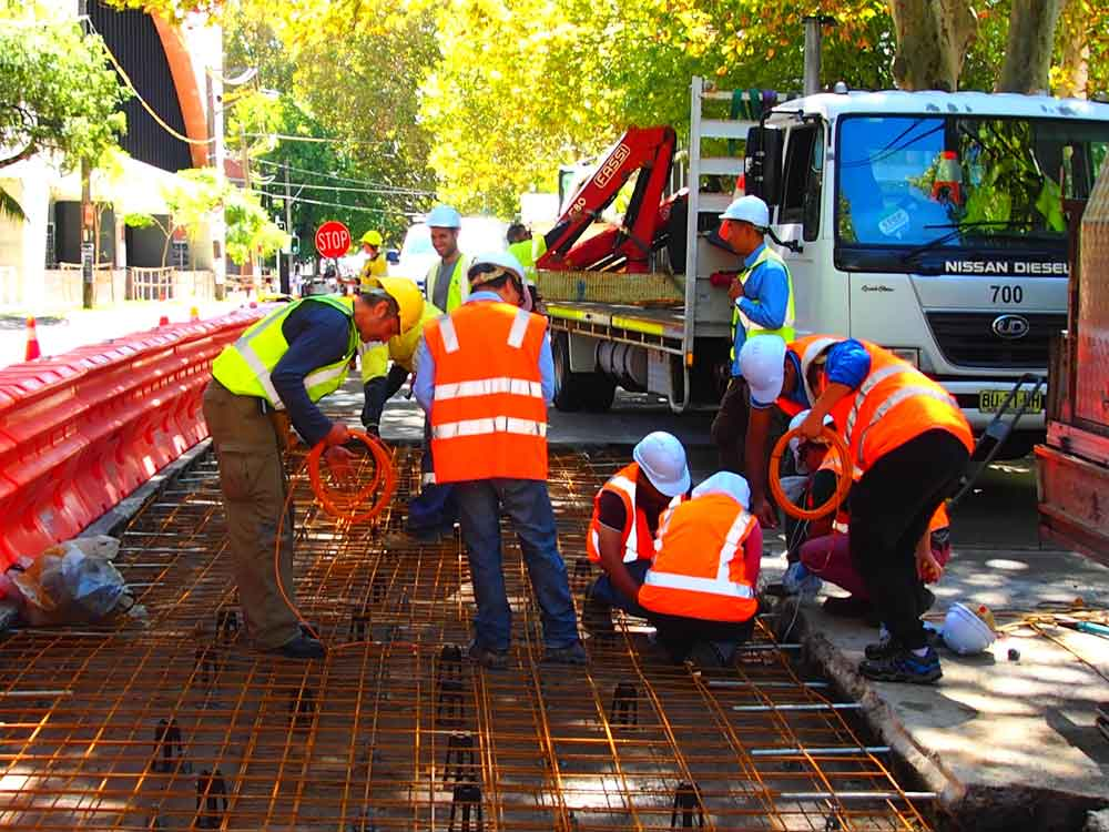 Sydney trials worldfirst concrete road made from