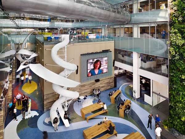 Office design trends More employee engagement