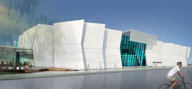 Tectonic Plated Cairns Aquarium Concept Design Progresses