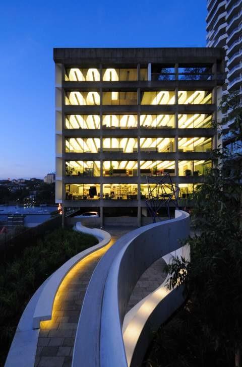 Harry Seidler Park opens in Milsons Point Sydney
