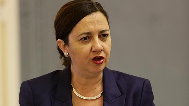 Queensland Premier Annastacia Palaszczuk. Image: The Australian
