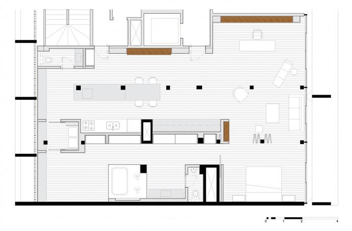 Oscar Niemeyer's Copan Apartment Redesigned by Felipe Hess