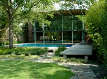 Amazing Pool House with a Very Unique and Playful Garden ...