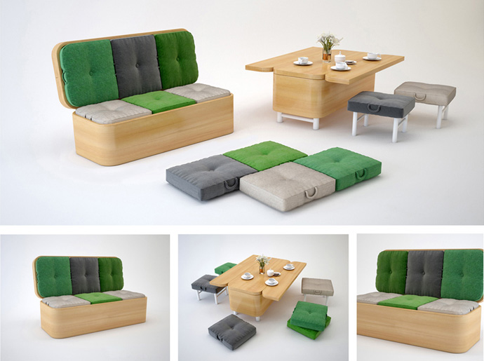 sofa convertibles best material for stains convertible easily transformed into a small dining table