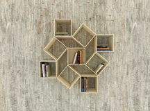 New Shapes Every Time- Squaring Movable Bookshelf by ...