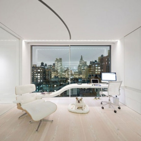 32 Minimalist Home Offices The Most Modern Artistic And