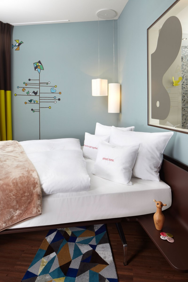 Unique Hotel With Unique Name 25 Hours Zurich