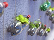 DIY: Creation of a modern garden with upcycling plastic ...