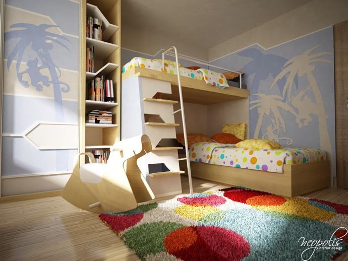 60 Original Childrens Bedroom Design Showcasing Vibrant