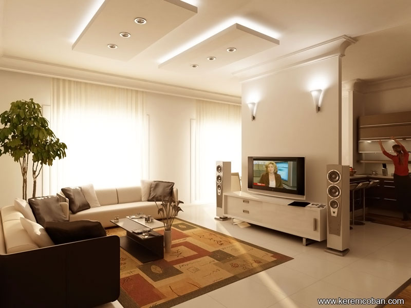 Contemporary Living Room Interior Designs Part 69
