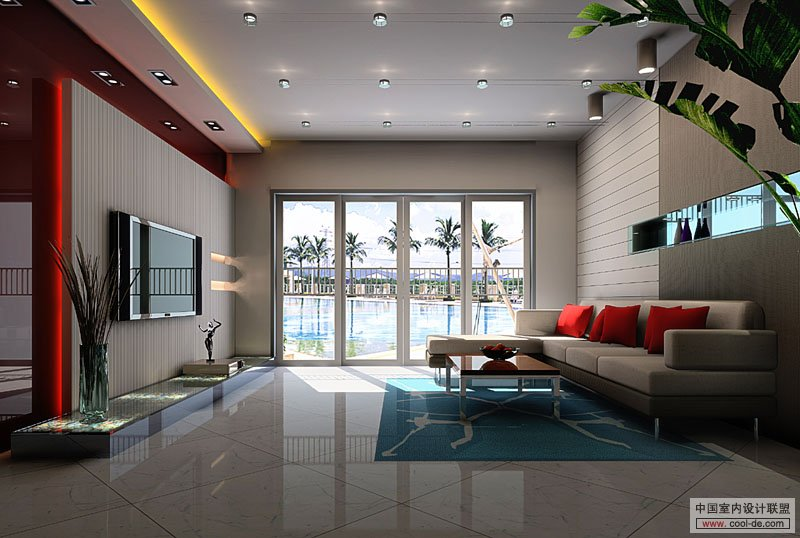 Contemporary Living Room Interior Designs Part 94