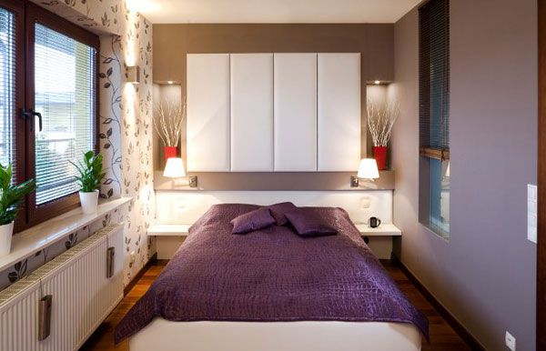 40 Design Ideas To Make Your Small Bedroom Look Ger