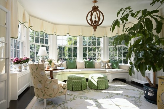 Stunning Ideas Of Bright Sunroom Designs Ideas