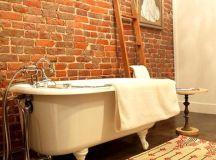 60 Elegant, Modern And Classy Interiors With Brick Walls ...