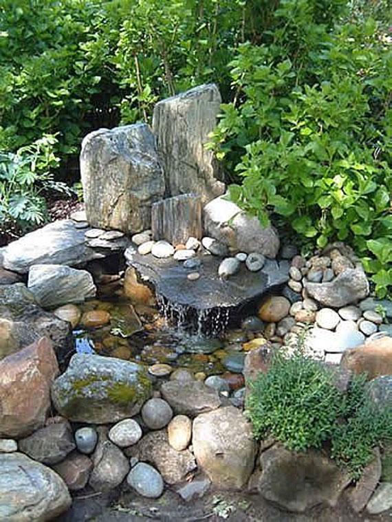 Beautiful Backyard Ponds And Water Garden Ideas
