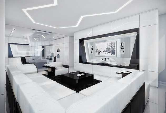 pictures of modern white living rooms room floor designs 20 wonderful black and contemporary