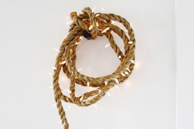 Rope Cord Pendant Light