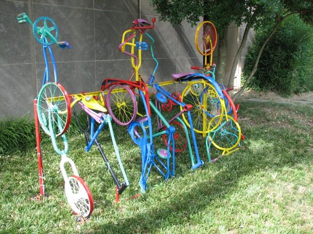 20 Funny and Unusual Bike Racks Designs