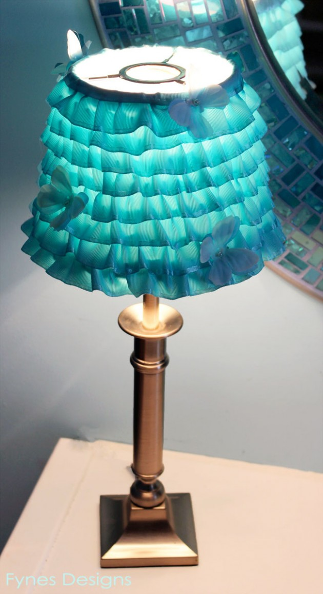 10 Adorable DIY Lampshades