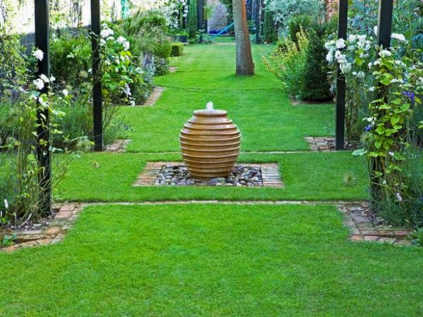 wonderful garden fountains
