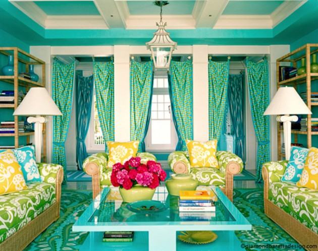 20 gorgeous colorful living