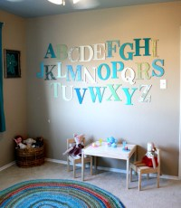 25 Cute DIY Wall Art Ideas for Kids Room