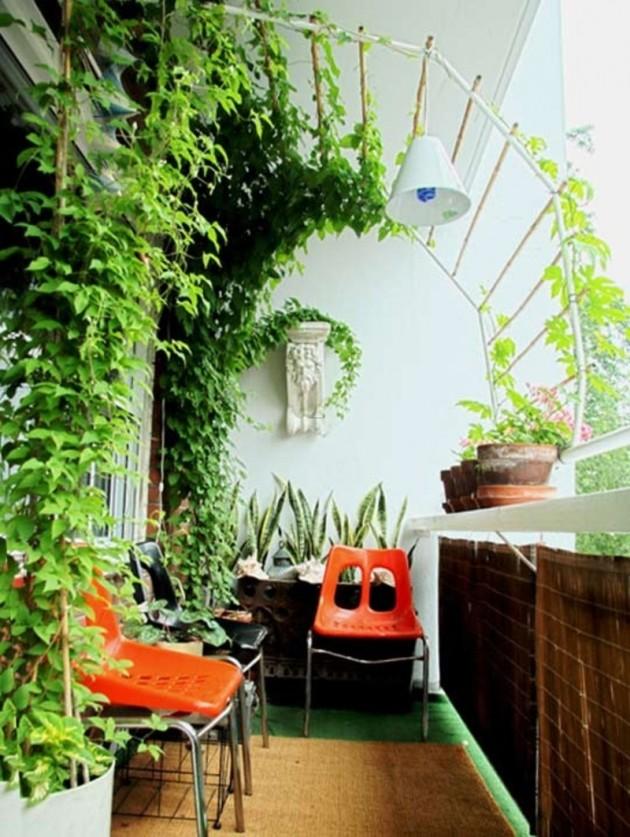 Charming Balcony Gardens